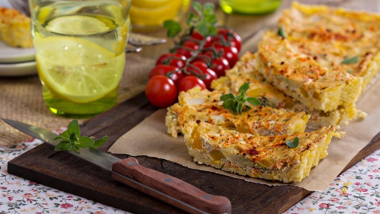 Vegane 3Gänge Menüs / Tofu Törtchen