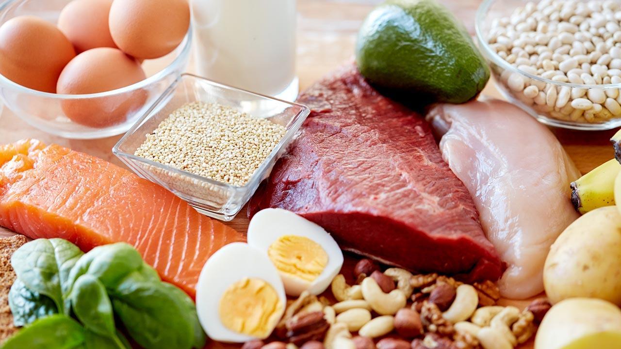 Diättrends 2020 / frische Zutaten für ein gesundes Gericht