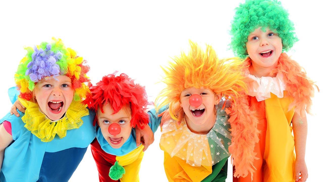 Das perfekte Kinderfasching Menü - verkleidete Kinder