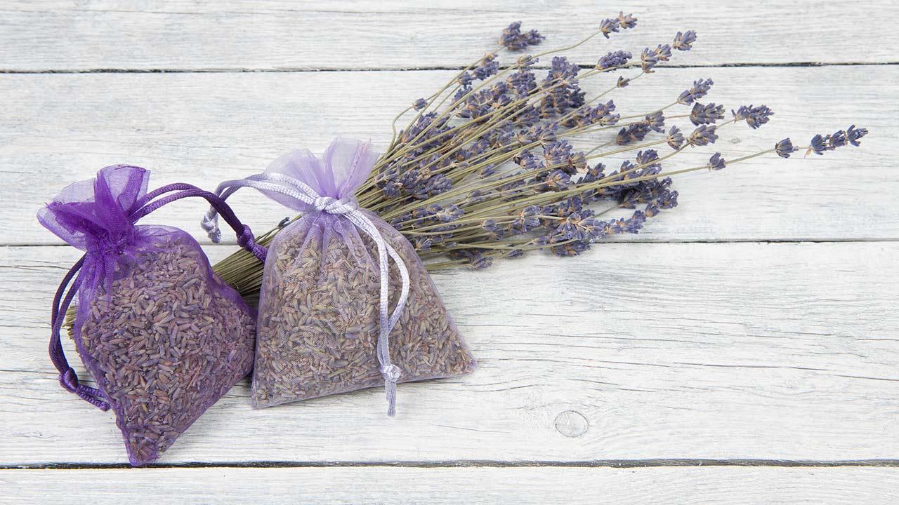 Raumduft selbst gemacht - Lavendelsäckchen