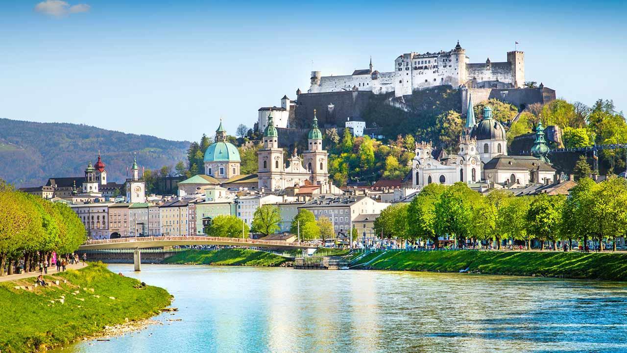 Frühlingssapziergang durch Salzburg Stadt - Salzburg am Tag
