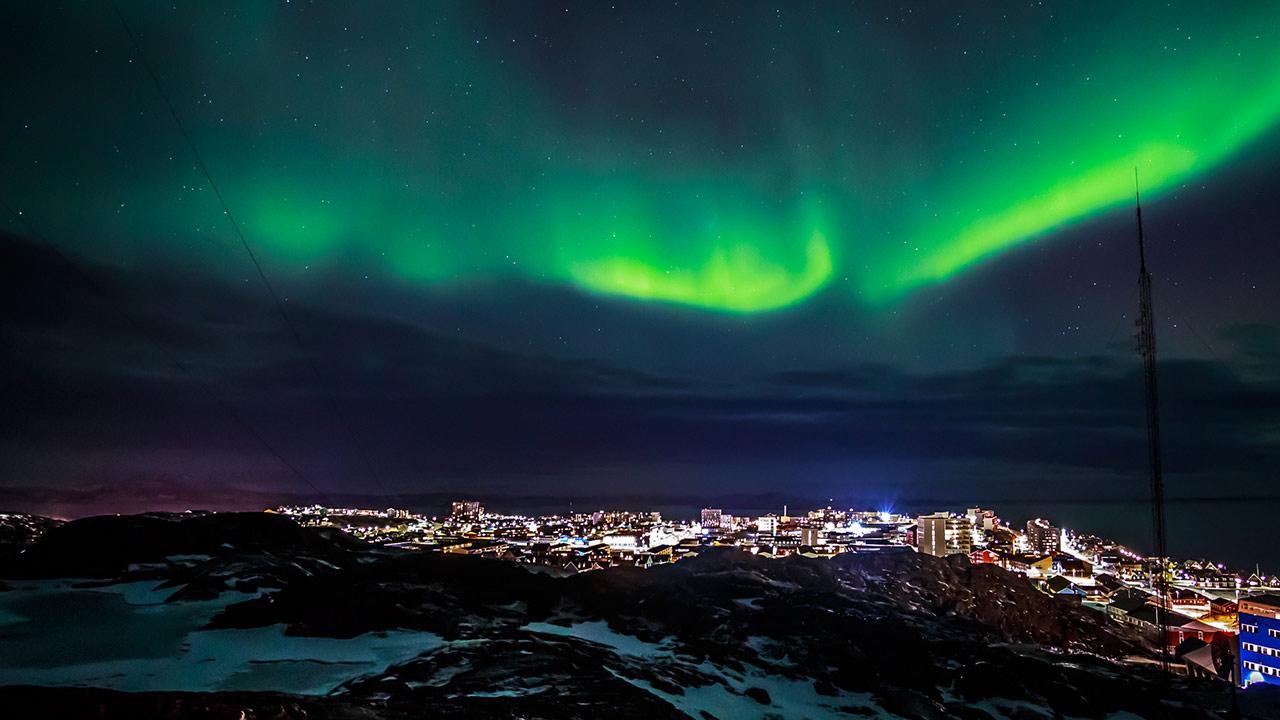 Kreuzfahrten in den Norden - Grönlandtour - die Polarlichter in Grönland